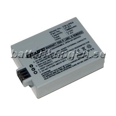 Batteri til Canon som ersätter LP-E5