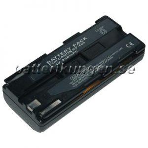Batteri til Canon som ersätter BP-608