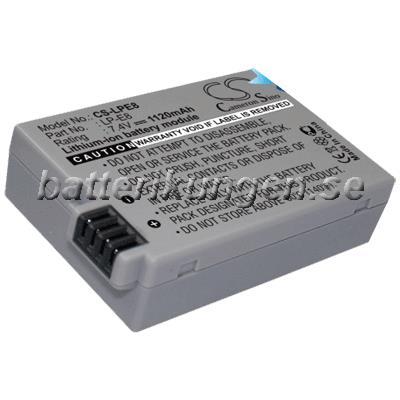 Batteri til Canon som ersätter LP-E8