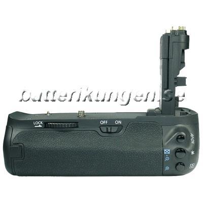 Batteri til Batterigrepp till Canon som ersätter BG-E9