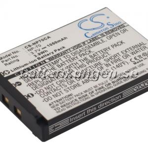Batteri til Casio som ersätter NP-70