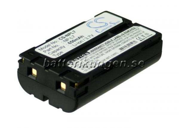 Batteri til Casio som ersätter NP-L7