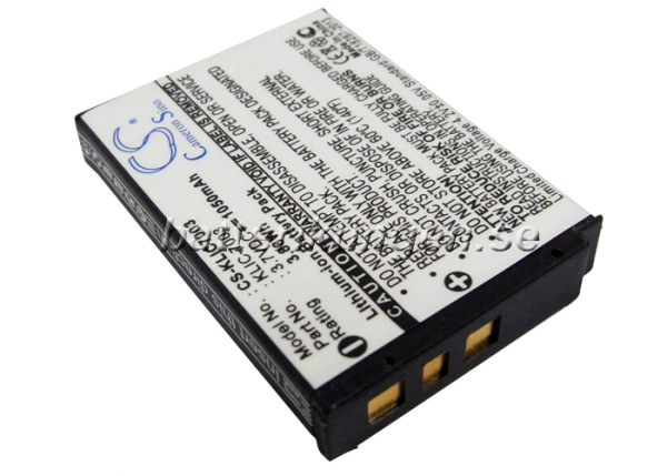 Batteri til Kodac - KLIC-7003
