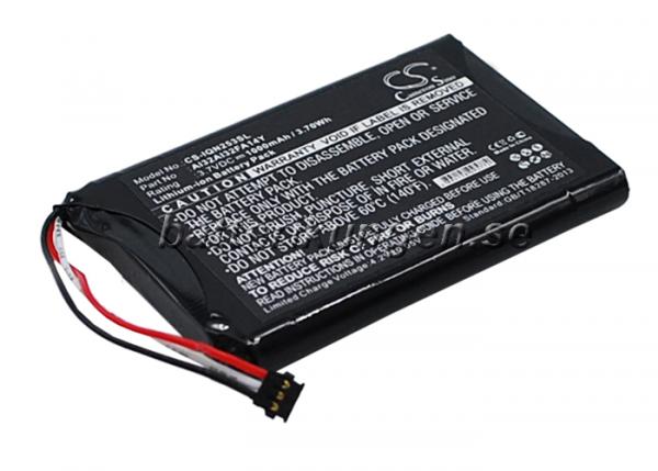 Batteri til Garmin Nuvi 2539LM mfl - 1.000 mAh