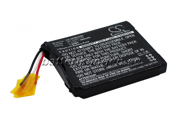 Batteri til Garmin forerunner 910XT  - 500 mAh