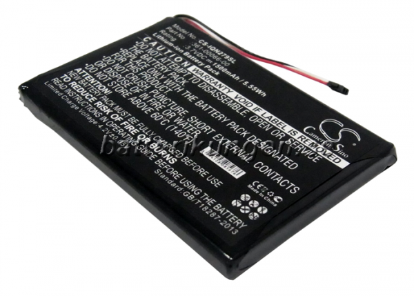 Batteri til Garmin Nuvi 2797 mfl  - 1.500 mAh