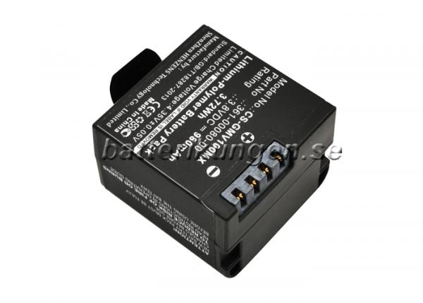 Batteri til Garmin Virb X mfl - 980 mAh