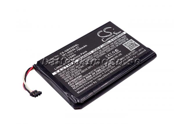 Batteri til Garmin Driveluxe 50 LMTHD mfl - 750 mAh