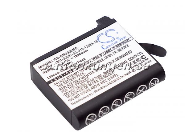 Batteri til Garmin Virb Ultra mfl - 1.000 mAh
