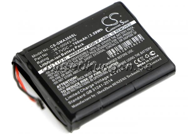 Batteri til Garmin Approach G30 mfl - 700 mAh