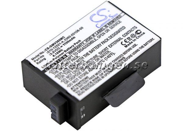 Batteri til GarminVirb 360 - 1.100 mAh