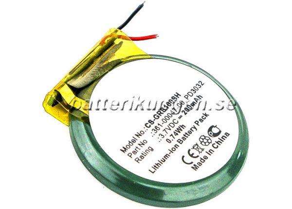 Batteri til Garmin Approach S1 mfl - 200 mAh