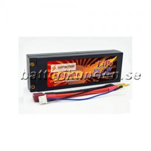 Batteri til Vant Hardcase - 7.4 Volt 3.400 mAh - 30C