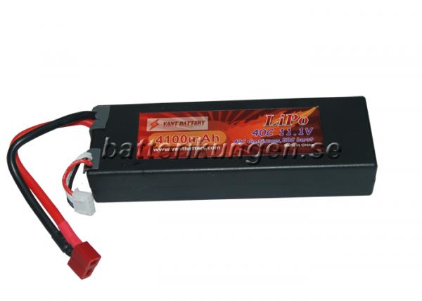 Batteri til Vant Hardcase - 11.1 Volt 4.100 mAh - 40C