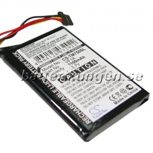 Batteri til TomTom Go 740 Live mfl