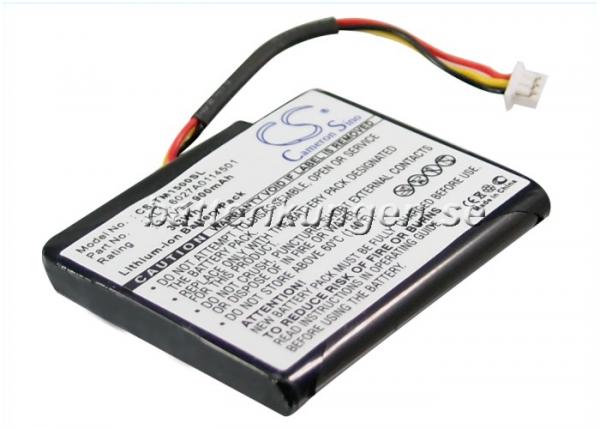 Batteri til TomTom VIA 1505T mfl
