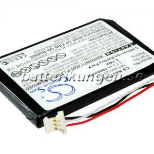 Batteri til Navigon 72 mfl