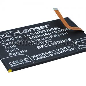 Batteri til BlackBerry Classic mfl - 2.500 mAh