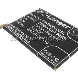 Batteri til BlackBerry Q5 mfl - 2.100 mAh