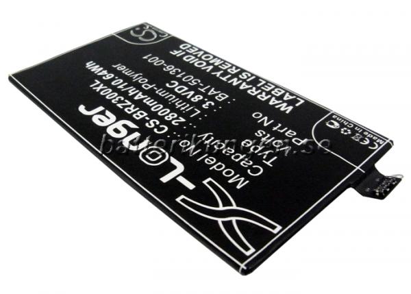 Batteri til BlackBerry Z30 mfl - 2.800 mAh