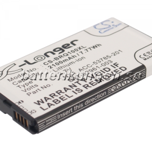 Batteri til BlackBerry Q10 mfl - 2.100 mAh