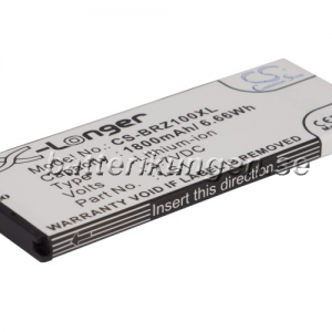 Batteri til BlackBerry Z10 mfl - 1.800 mAh
