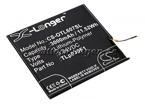 Batteri til BlackBerry BBA100-1 mfl - 3.000 mAh