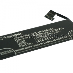 Batteri til Apple iPhone 5 - 1.400 mAh