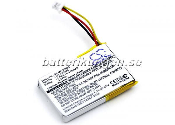 Batteri til Mio Mivue 338