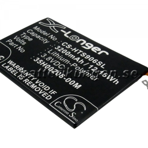 Batteri til HTC Butterfly S mfl - 3.200 mAh