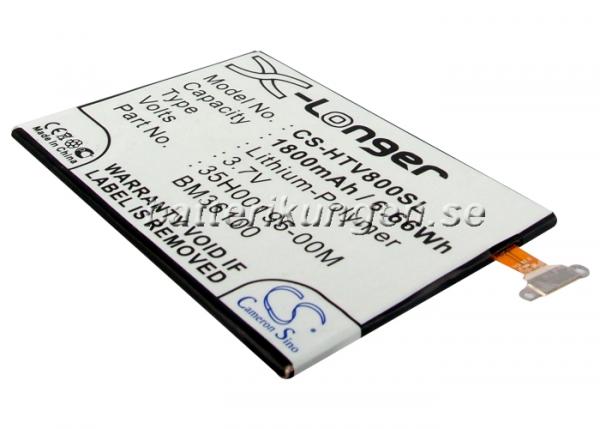 Batteri til HTC One VX mfl - 1.900 mAh