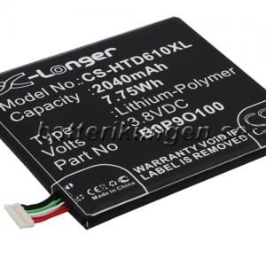 Batteri til HTC Desire 610 mfl - 2.040 mAh