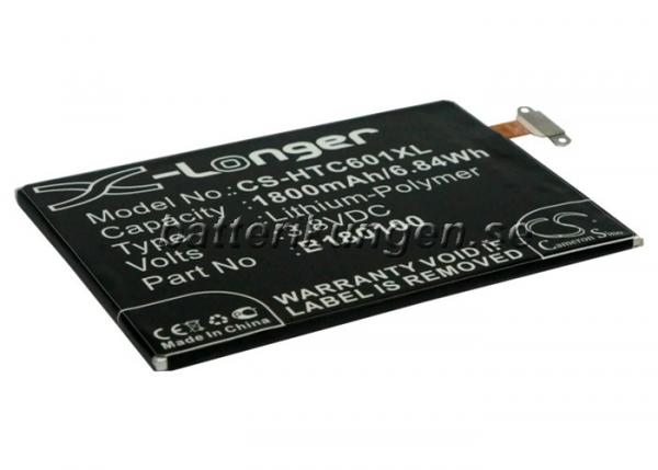 Batteri til HTC One Mini mfl - 1.800 mAh