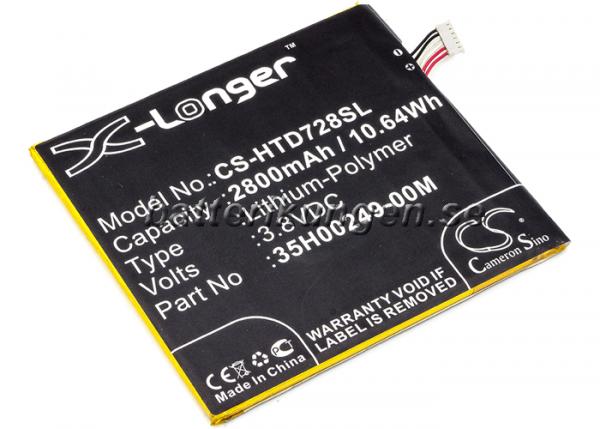 Batteri til HTC Desire 728 mfl - 2.800 mAh