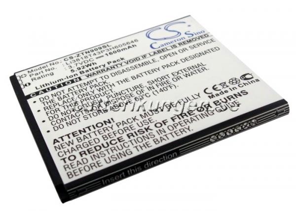 Batteri til ZTE N909 mfl - 1.600 mAh