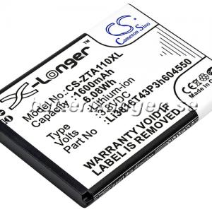 Batteri til ZTE Blade A110 mfl - 1.600 mAh