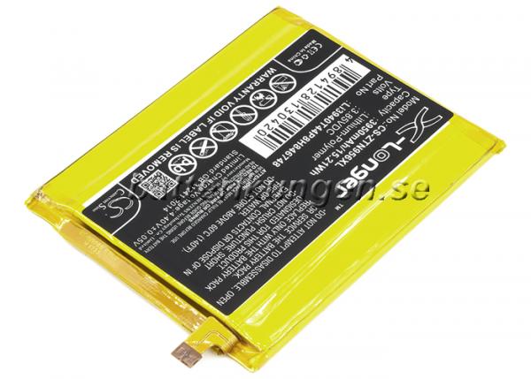 Batteri til ZTE MAX XL mfl - 3.950 mAh