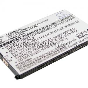 Batteri til Doro PhoneEasy 326 mfl