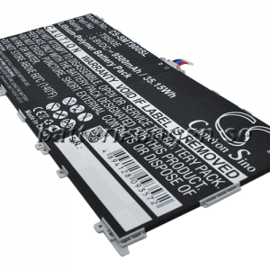 Batteri til Samsung SM-T900 mfl - 9.500 mAh