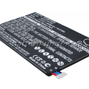 Batteri til Samsung Galaxy Tab4 8.0 3G mfl  - 4.450 mAh