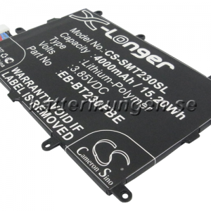 Batteri til Samsung SM-230 mfl  - 4.000 mAh