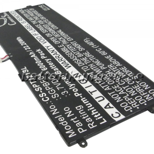 Batteri til Sony Tablet S mfl - 6.000 mAh