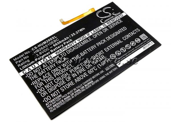 Batteri til Huawei Mediapad M2 10.0 mfl - 6.650 mAh