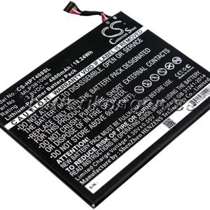 Batteri til HP Pro Tablet 408 G1 mfl - 4.800 mAh