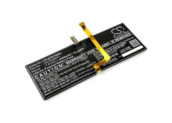 Batteri til Google Project Tango mfl - 2.400 mAh