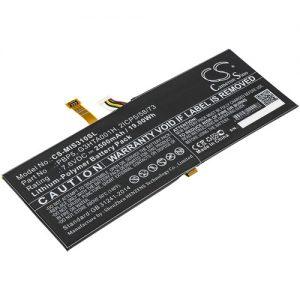 Batteri til Microsoft SurfaceBook with Performancebase - 2.500 mAh