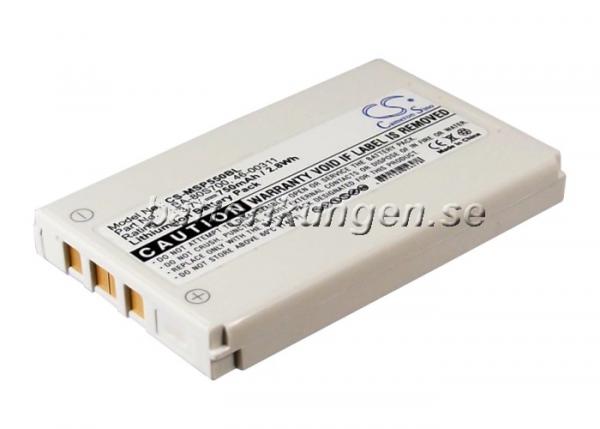 Batteri til Metrologic MS5500 mfl - 750 mAh