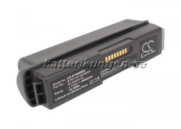 Batteri til Symbol WT4000 mfl - 4.400 mAh