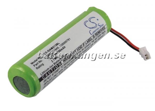 Batteri til Datalogic QuickScan Mobile 2130 mfl - 750 mAh