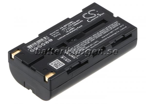Batteri til Intermec PB2 mfl - 2.600 mAh
